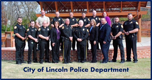 Police Department – City of Lincoln, Alabama